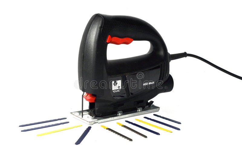 Electrical saw royalty free stock photo