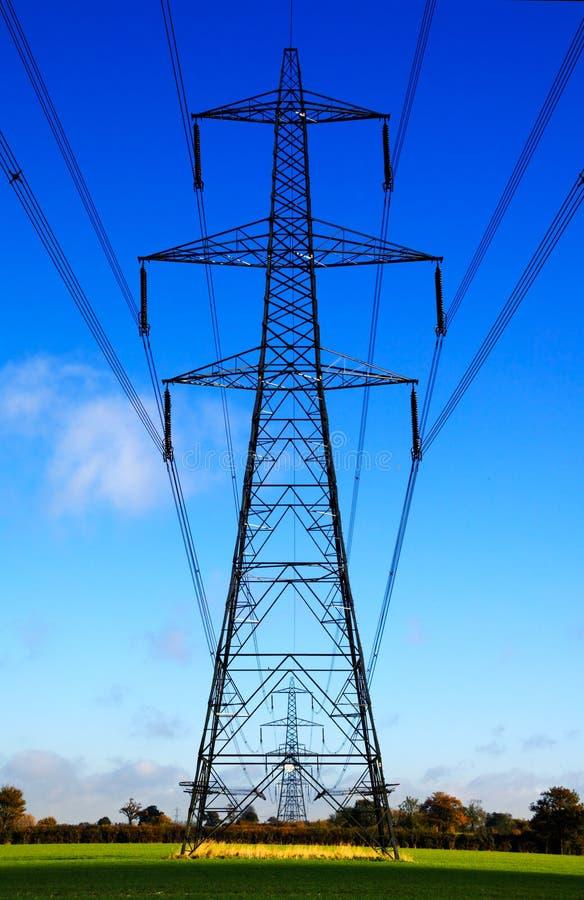 Electrical sentries stock photos