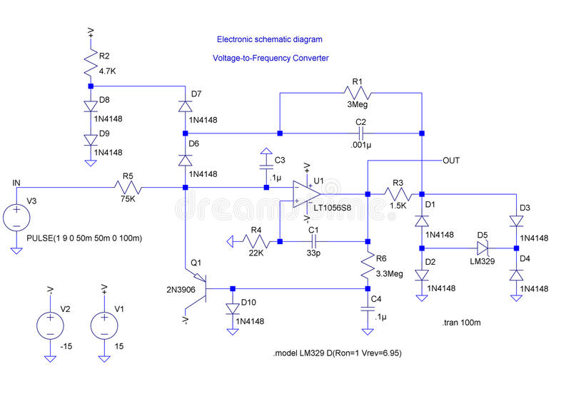 Download Electrical Shematic Diagram Stock Illustration - Illustration: 16783709