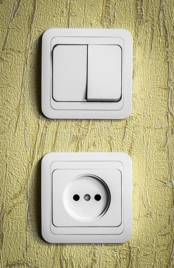 Electrical Sockets And Switches Stock Photo - Image of concepts ...