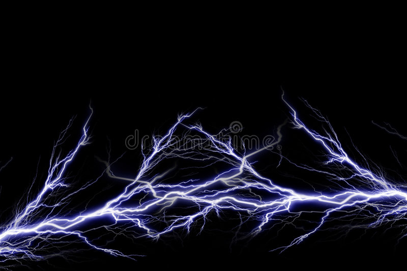 Electrical spark royalty free illustration