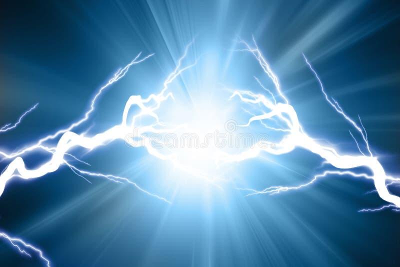 Electrical sparks royalty free illustration