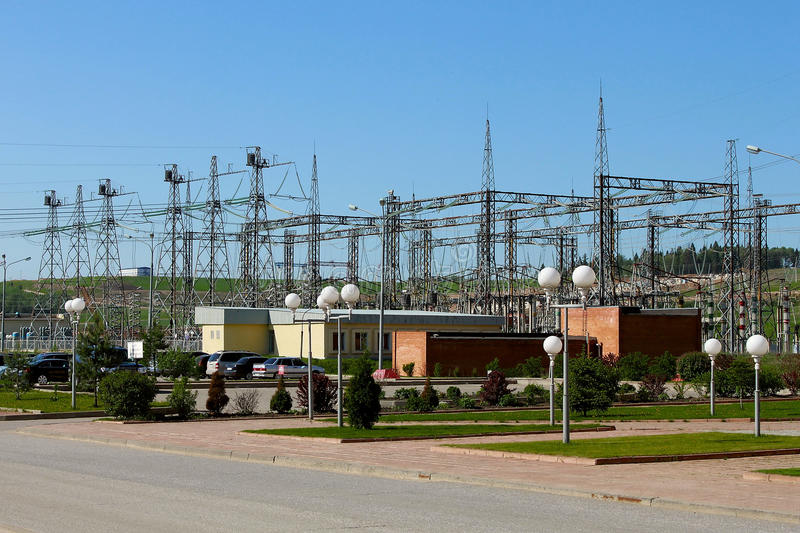 Download Electrical substation stock photo. Image of distribution - 19178190