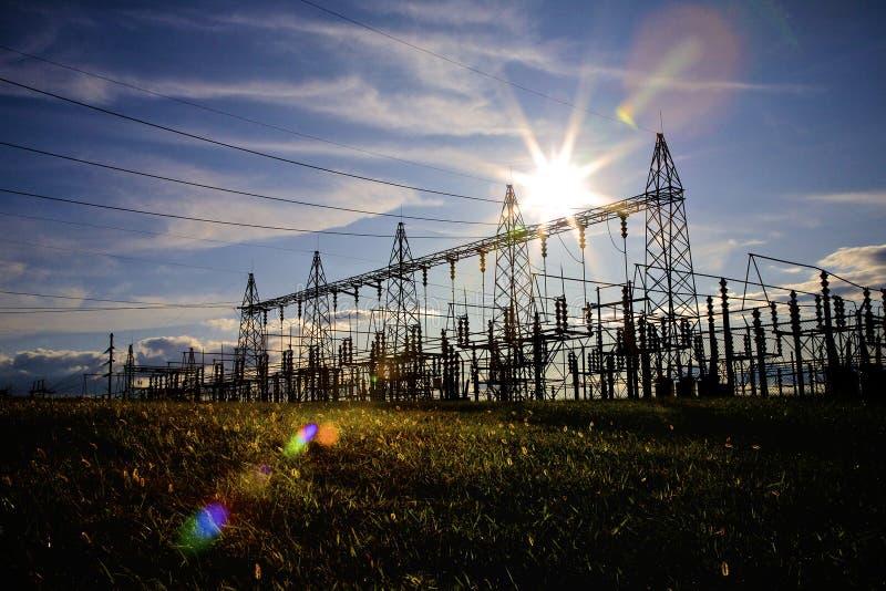 Electrical Substation stock photos