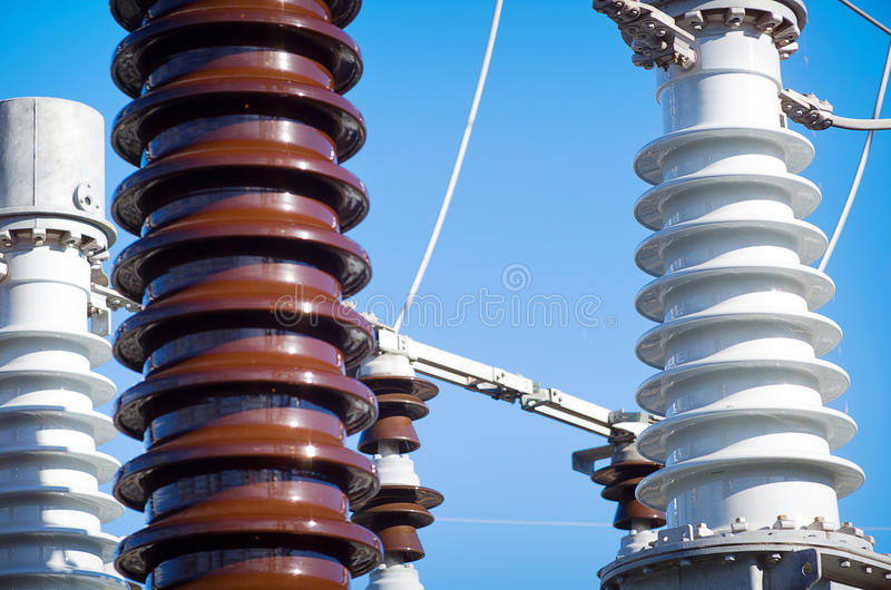 Download Electrical Substation stock image. Image of energy, substation - 28528181
