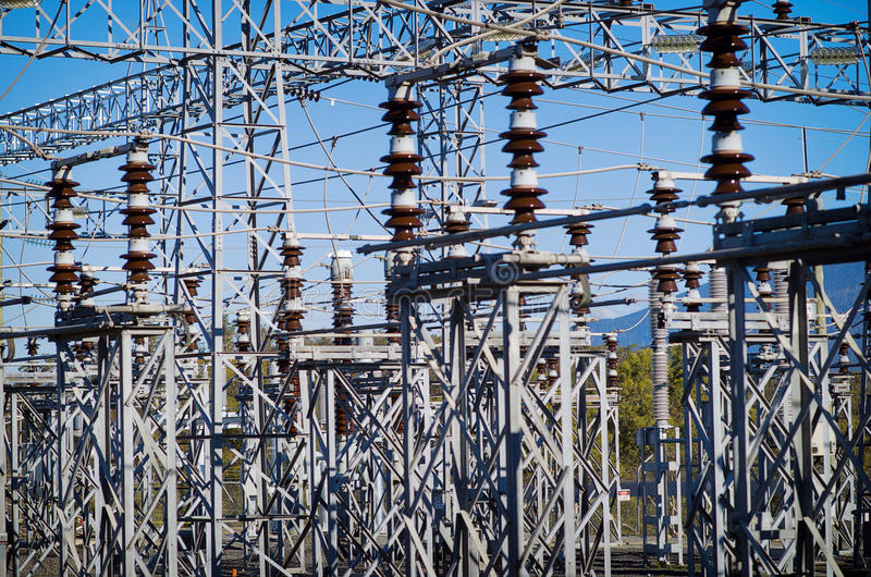 Download Electrical Substation stock image. Image of high, equipment - 28528791