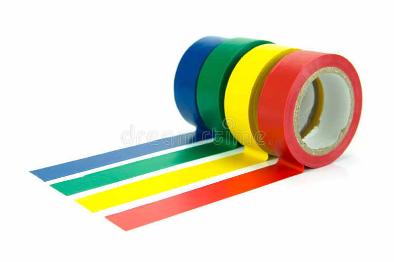 Download Electrical Tape stock image. Image of rolls, tape, maintenance - 7921765