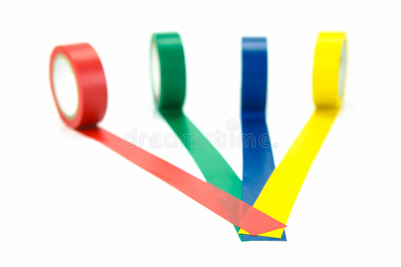 Download Electrical Tape stock image. Image of color, roll, electrical - 7921823