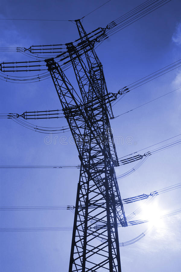 Download Electrical tower stock image. Image of electricity, sunny - 21923497