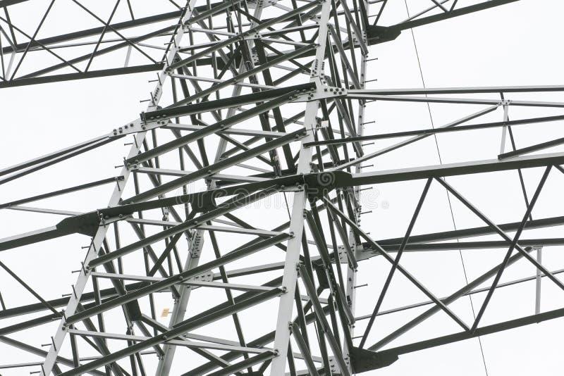 Electrical towers next to schwandorf at sunset. Bavaria stock photos
