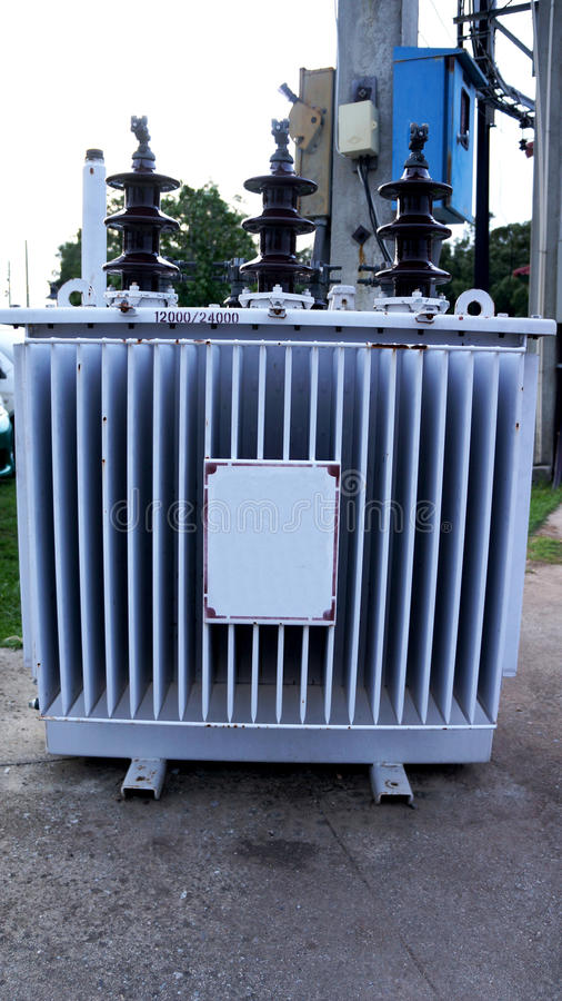 Download Electrical transformer stock image. Image of infrastructure - 32150999