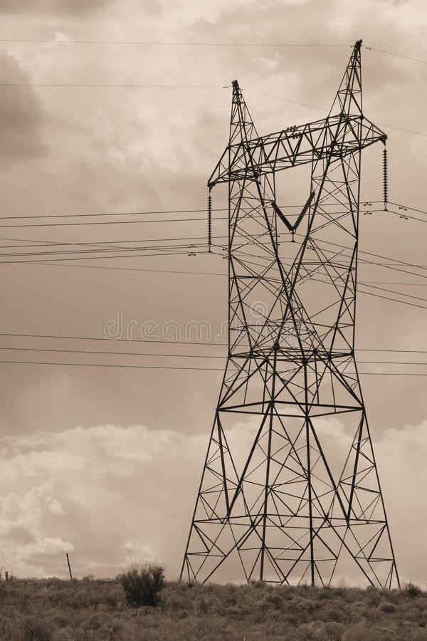 Download Electrical Transmission Tower Stock Photo - Image: 86417625