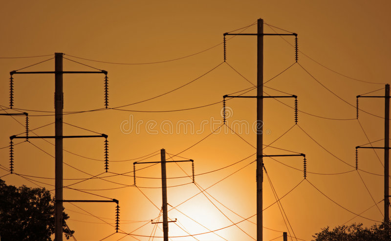 Electrical Wires stock images