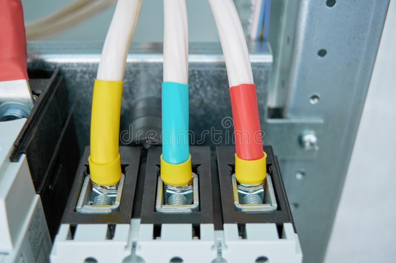Electrical Wires Being Connected - WIRE Center •