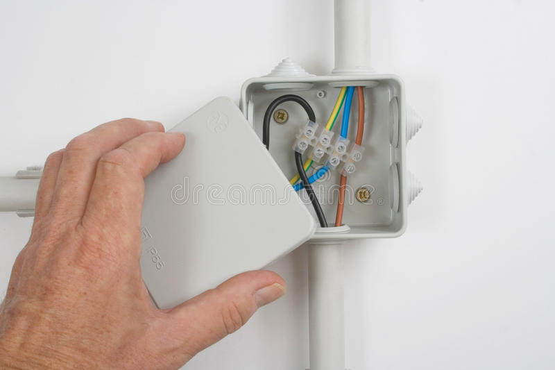 Download Electrical wiring stock photo. Image of engineering, fuse - 73580970