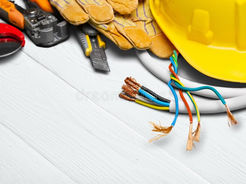 Electrician stock images