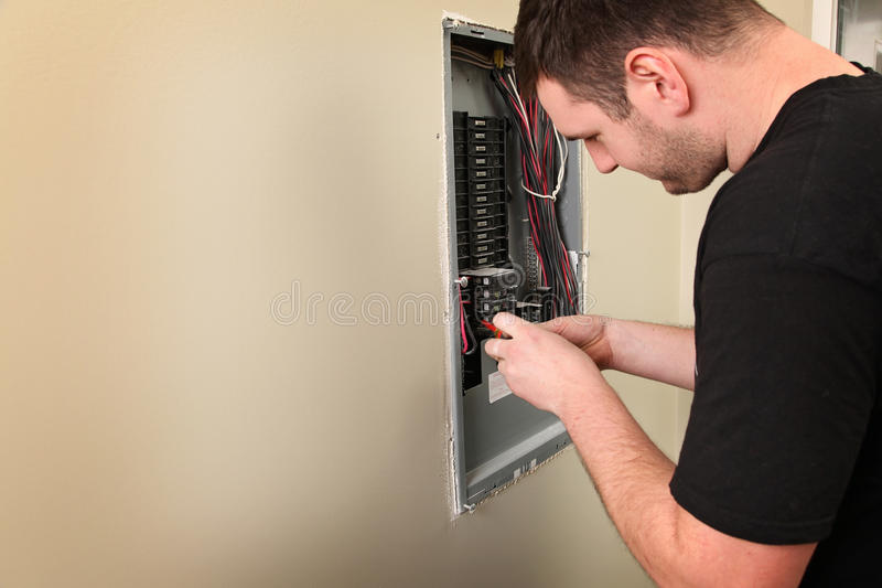 Electrician royalty free stock photography