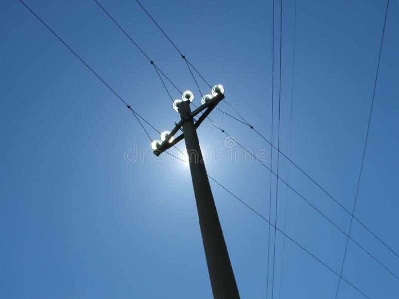 Electricidad fotografía de archivo libre de regalías
