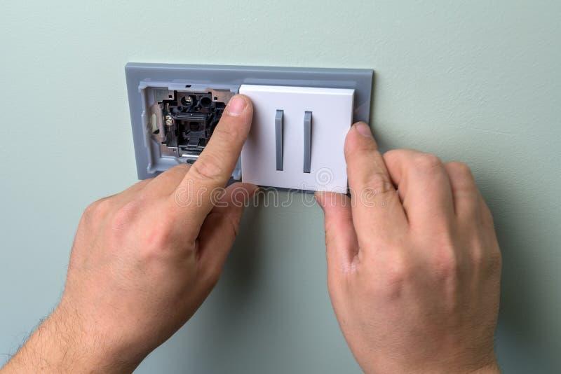 electricista fotografía de archivo