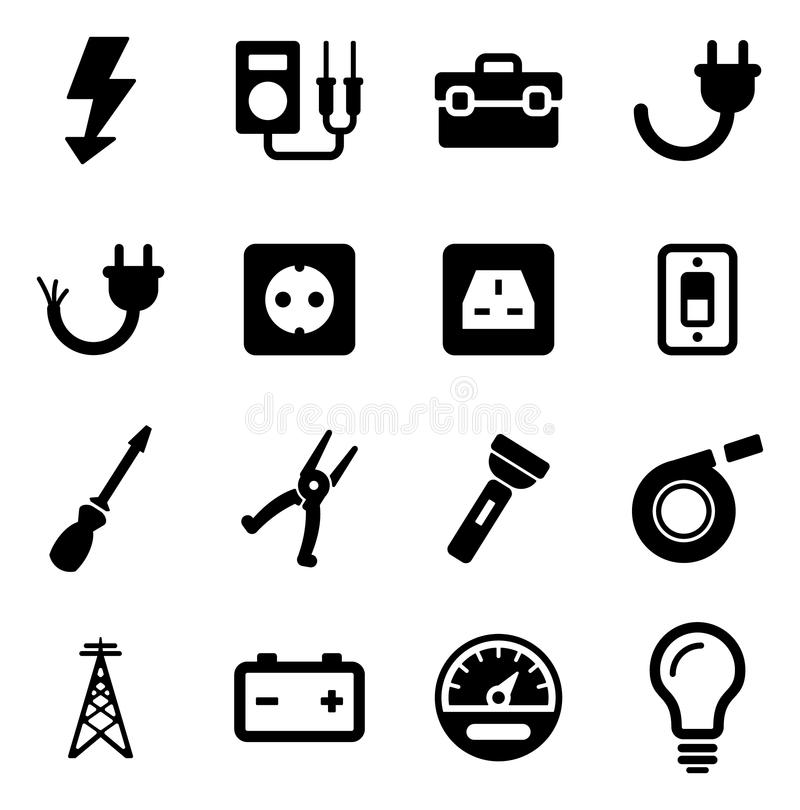Electricista Icons