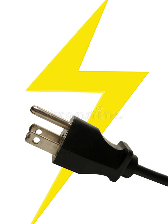 Electricity royalty free stock photo