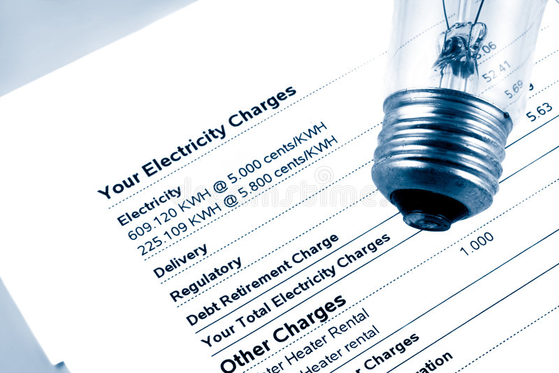 Download Electricity bill stock image. Image of debt, light, owing - 6430841