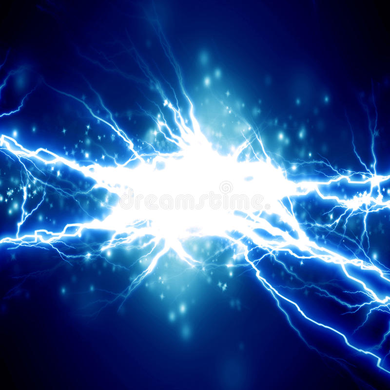 Electricity royalty free illustration