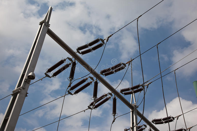 Download Electricity distribution stock photo. Image of dangerous - 26444468