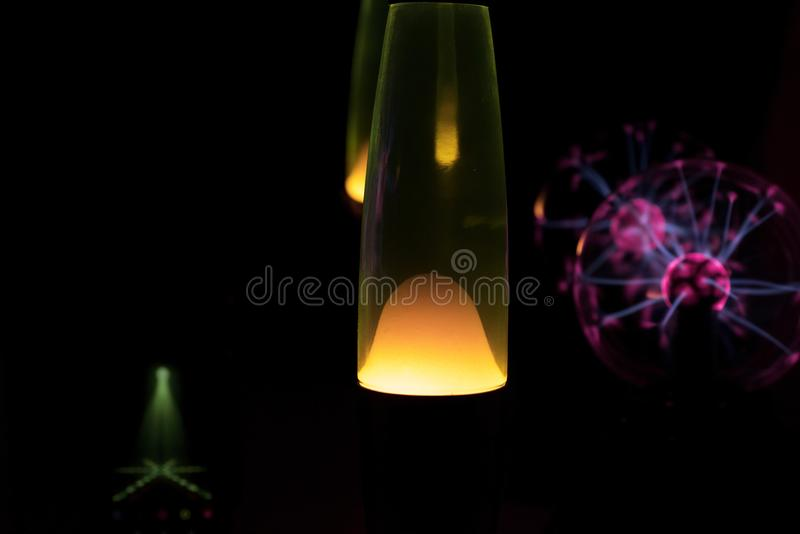 Electricity fire-ball. Abstract photo of electric waves. Static electricity stock photos