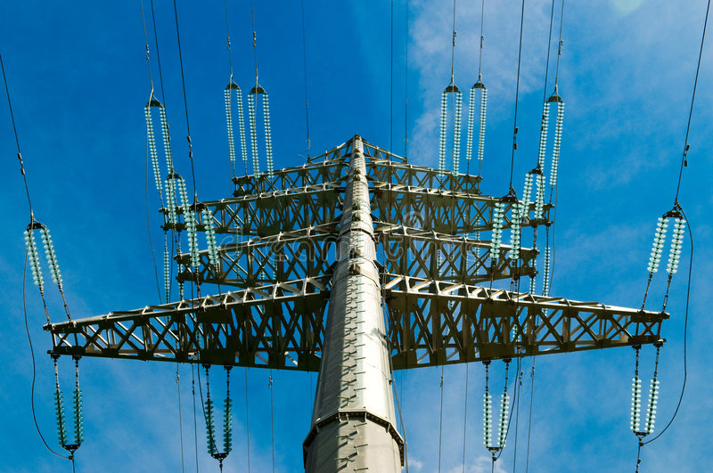 Download Electricity line stock image. Image of power, engineering - 5443505