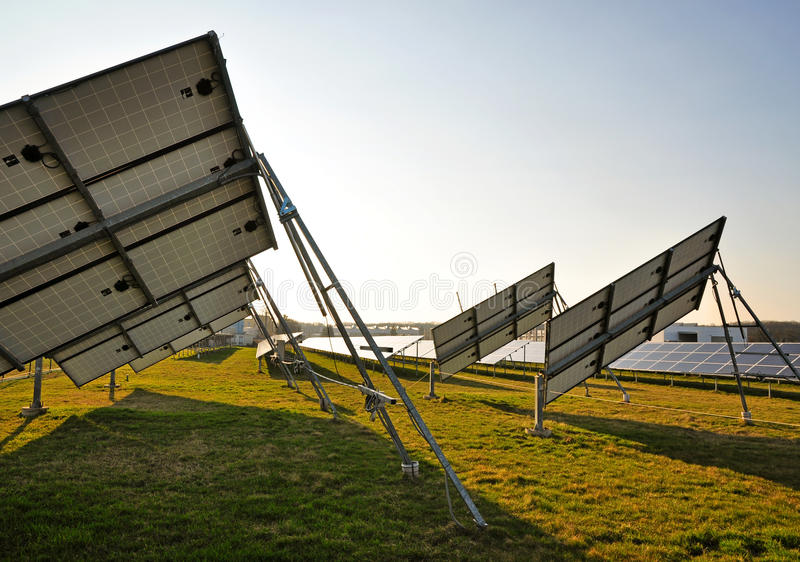 Download Photovoltaic Plant Power-station Stock Image - Image of network, panel: 69575603