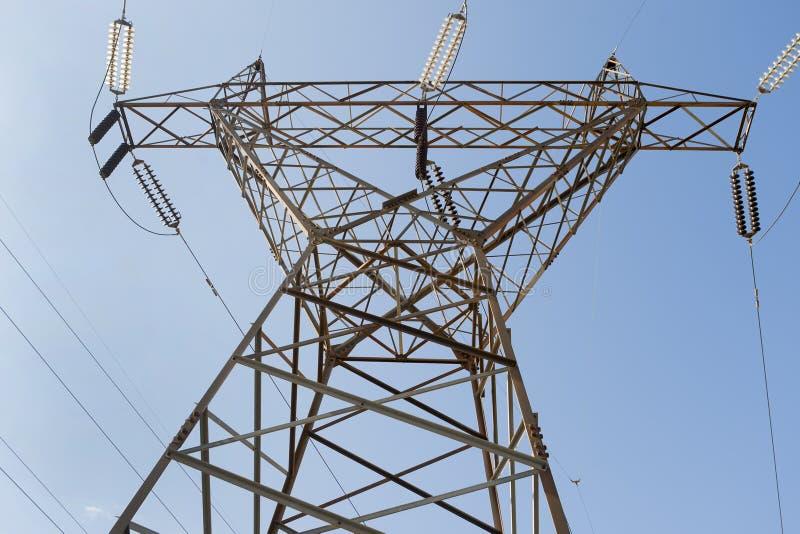 Download Electricity Pillars Stock Photos - Image: 27941843