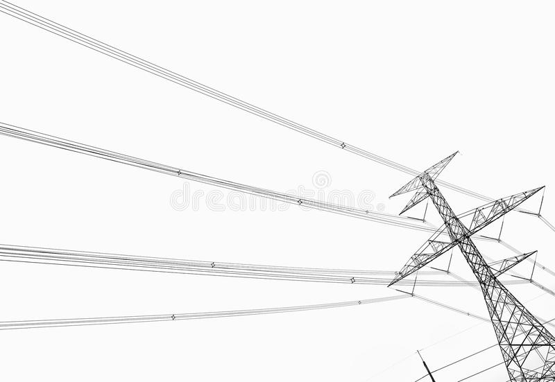 Download Electricity Pole Royalty Free Stock Photos - Image: 26807338
