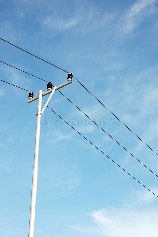 Download Electricity pole stock image. Image of energy, electricity - 34438599
