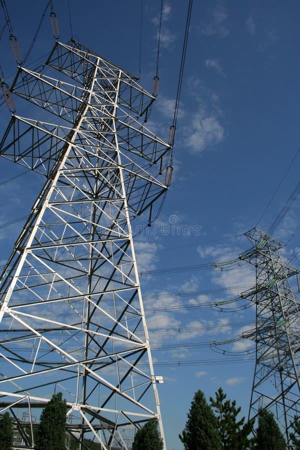 Free Electricity Power Pylon Royalty Free Stock Image - 6084836