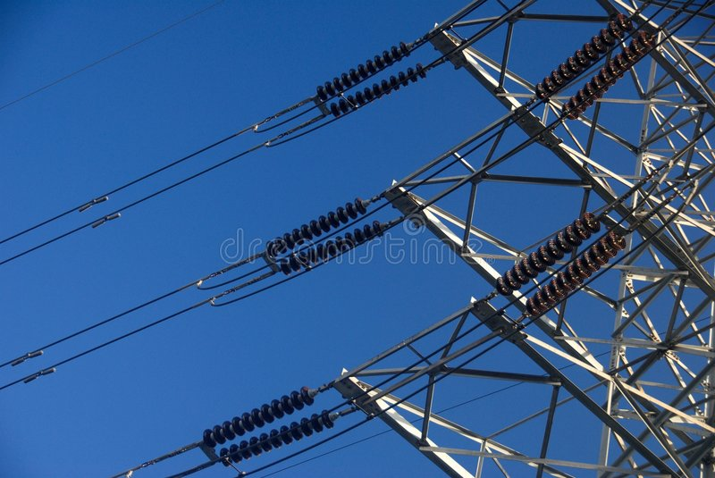 Download Electricity Power Transmission Stock Image - Image of industry, tower: 2556613