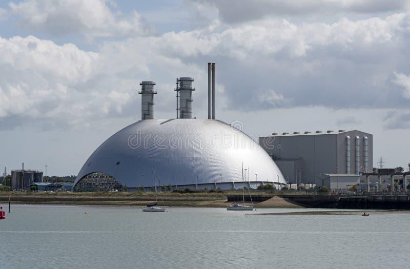 Electricity production plant UK stock photos