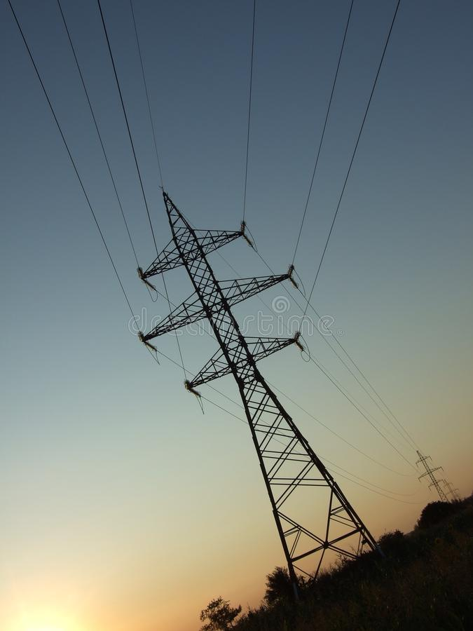 Download Electricity Pylon Stock Photography - Image: 10269042