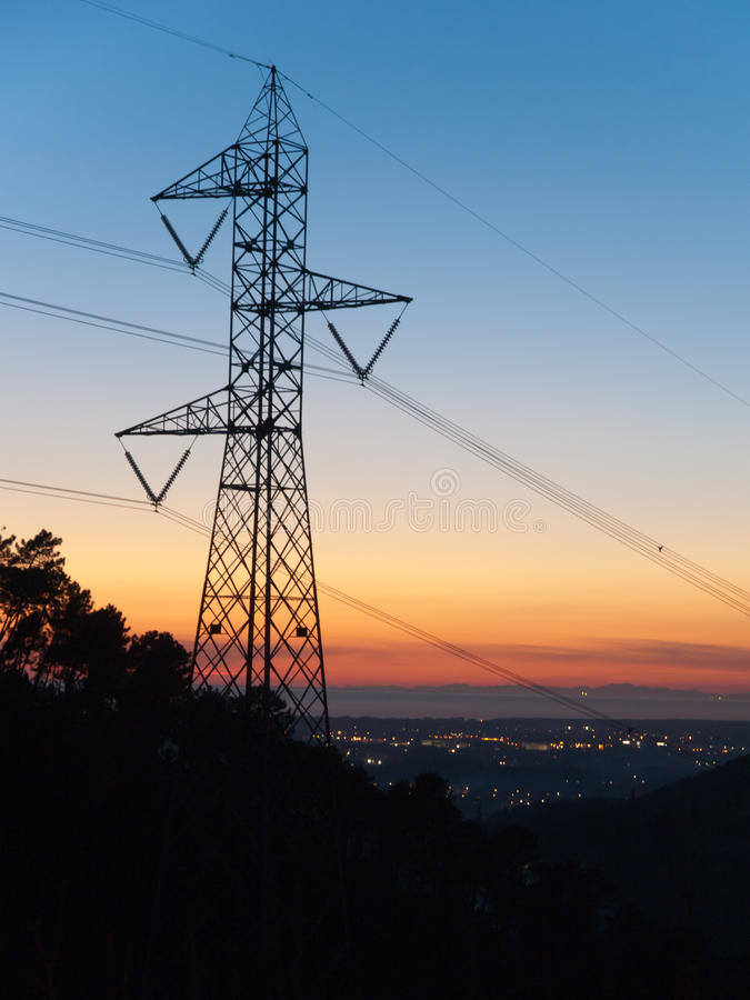 Download Electricity pylon stock image. Image of environment, electrical - 16742065