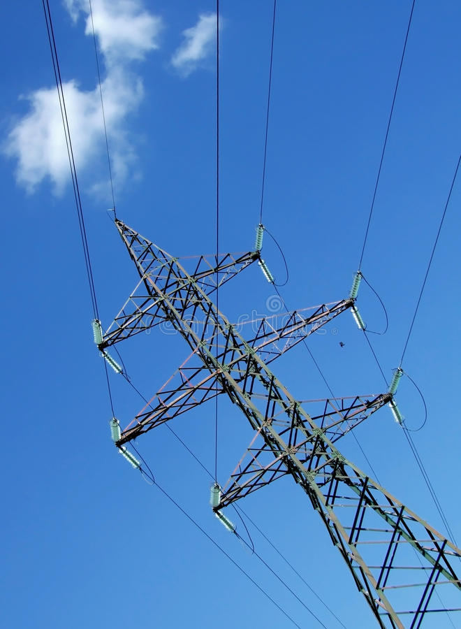 Download Electricity pylon stock image. Image of engineering, grid - 19897275
