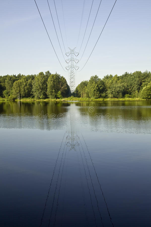Download Electricity Pylon Royalty Free Stock Image - Image: 23418276