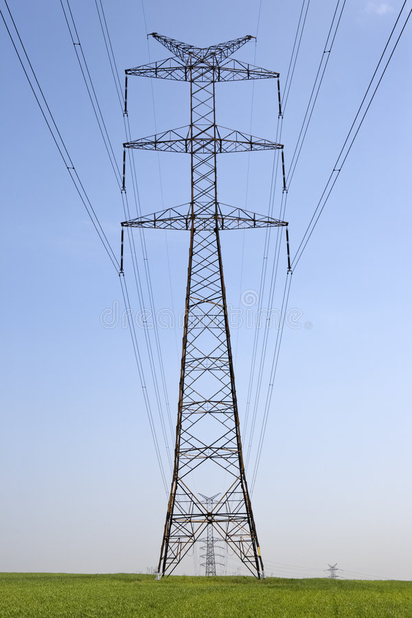 Free Electricity Pylon Royalty Free Stock Images - 5455129