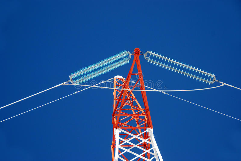 Download Electricity pylons stock photo. Image of equipment, steel - 17871658