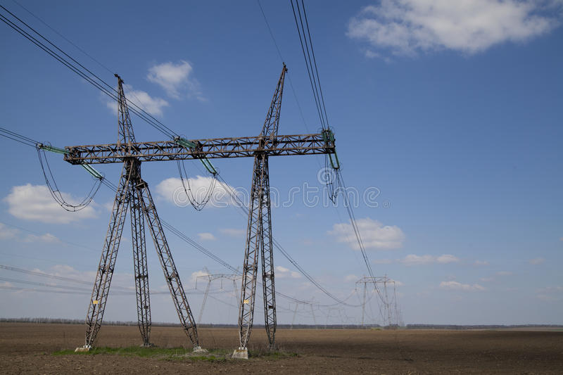 Download Electricity pylons stock photo. Image of energy, structure - 39297548