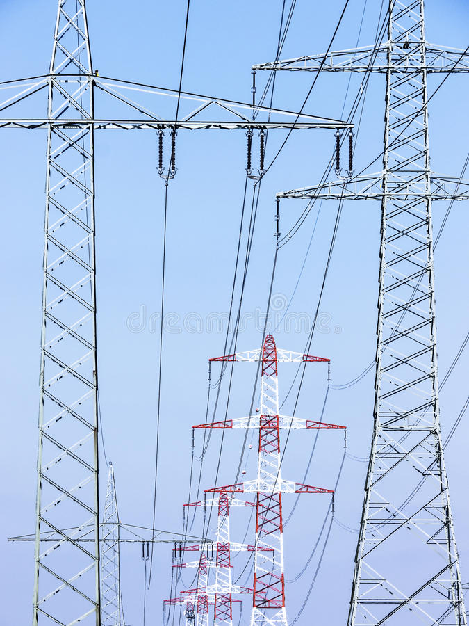 Download Electricity Pylons Royalty Free Stock Images - Image: 35084689