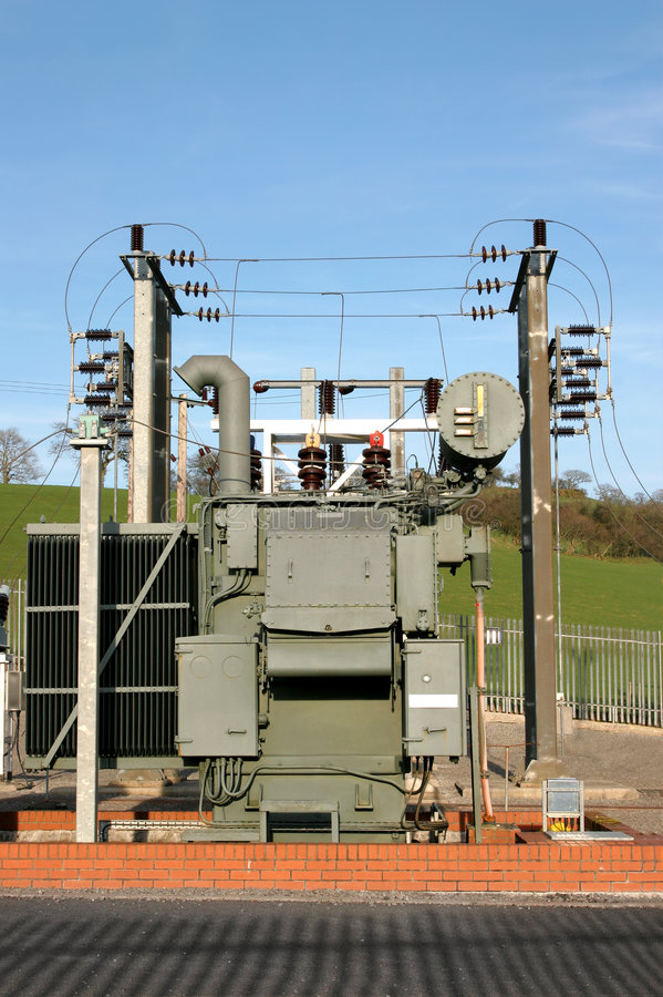 Free Electricity Sub Station Royalty Free Stock Photography - 6293667