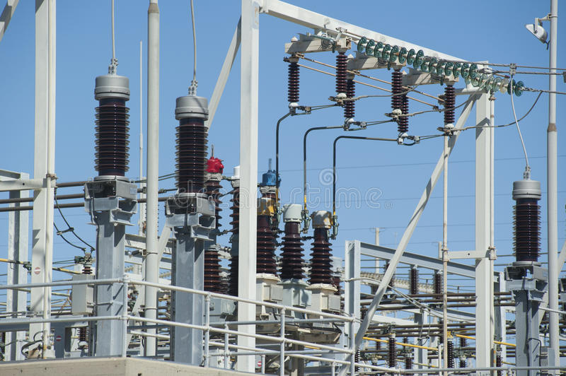 Download Electricity Substation stock photo. Image of station - 18471276
