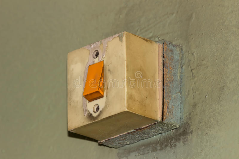 Electricity,switch Royalty Free Stock Photography