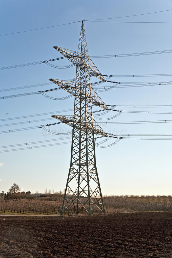 Free Electricity Tower For Energy With Sky Royalty Free Stock Photo - 14181705