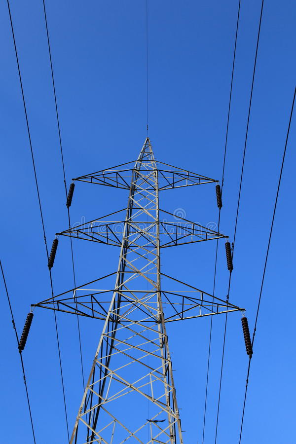 Download Electricity Transmission Line Stock Photography - Image: 26167712